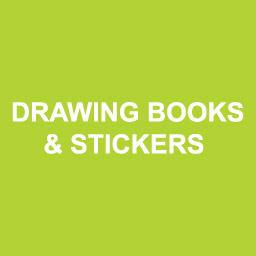 Drawing Books And Stickers