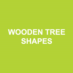 Wooden Tree Shapes