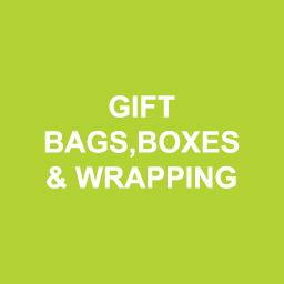 Gift Bags, Boxes & Wrapping